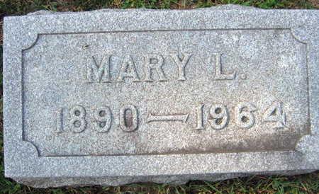 HAWKINS, MARY L. - Linn County, Iowa   MARY L. HAWKINS