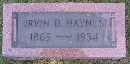 HAYNES, IRVIN D. - Linn County, Iowa   IRVIN D. HAYNES