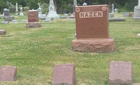 HAZEN, FAMILY STONE - Linn County, Iowa   FAMILY STONE HAZEN