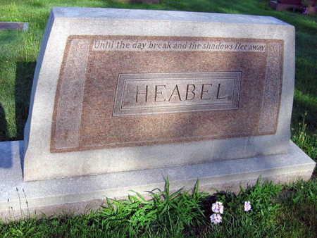HEABEL, FAMILY STONE - Linn County, Iowa | FAMILY STONE HEABEL