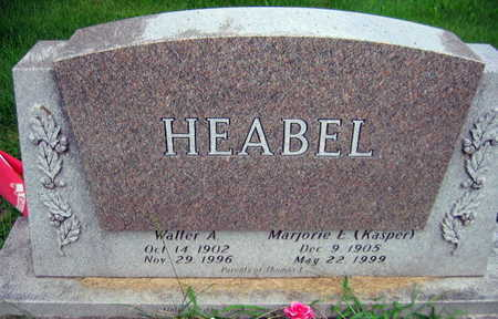 HEABEL, WALTER A. - Linn County, Iowa | WALTER A. HEABEL