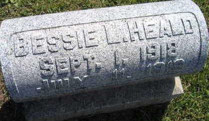 HEALD, BESSIE L. - Linn County, Iowa   BESSIE L. HEALD