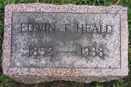 HEALD, EDWIN T. - Linn County, Iowa | EDWIN T. HEALD