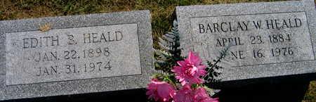 HEALD, BARCLAY W. - Linn County, Iowa | BARCLAY W. HEALD
