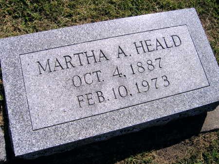 HEALD, MARTHA A. - Linn County, Iowa | MARTHA A. HEALD