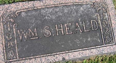 HEALD, WILLIAM S. - Linn County, Iowa | WILLIAM S. HEALD