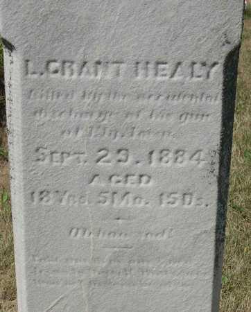 HEALY, L. GRANT - Linn County, Iowa | L. GRANT HEALY