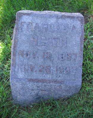 HEATH, FRANCIS A. - Linn County, Iowa | FRANCIS A. HEATH