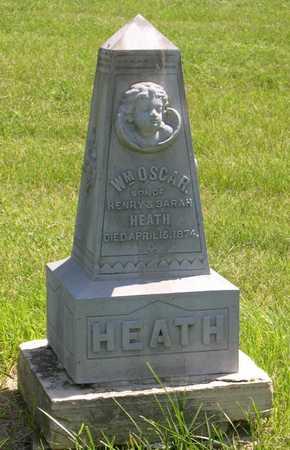 HEATH, WM. OSCAR - Linn County, Iowa | WM. OSCAR HEATH