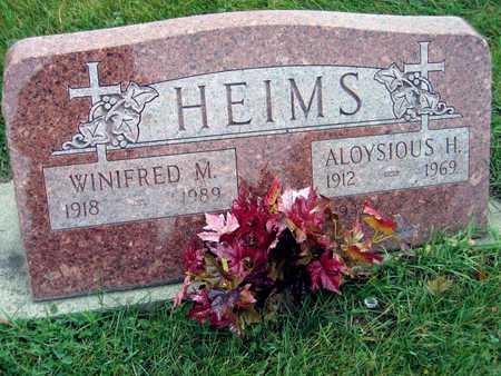 HEIMS, WINIFRED M. - Linn County, Iowa | WINIFRED M. HEIMS
