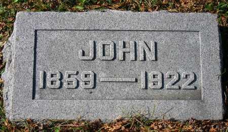 HEIN, JOHN - Linn County, Iowa   JOHN HEIN