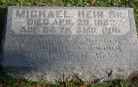 HEIN, MICHAEL, SR. - Linn County, Iowa | MICHAEL, SR. HEIN
