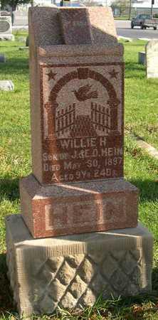 HEIN, WILLIE H. - Linn County, Iowa | WILLIE H. HEIN