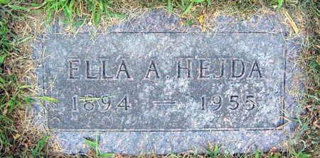 HEJDA, ELLA A. - Linn County, Iowa   ELLA A. HEJDA