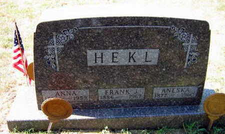 HEKL, ANESKA - Linn County, Iowa | ANESKA HEKL