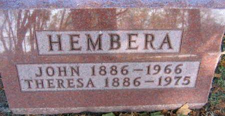 HEMBERA, JOHN - Linn County, Iowa | JOHN HEMBERA