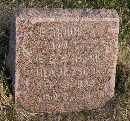 HENDERSON, BERNICE A. - Linn County, Iowa | BERNICE A. HENDERSON