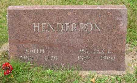 HENDERSON, WALTER E. - Linn County, Iowa | WALTER E. HENDERSON
