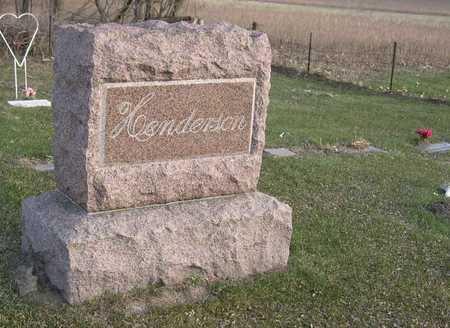 HENDERSON, FAMILY STONE - Linn County, Iowa   FAMILY STONE HENDERSON