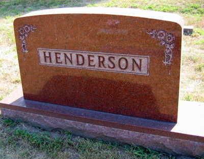 HENDERSON, FAMILY STONE - Linn County, Iowa | FAMILY STONE HENDERSON