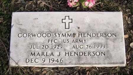 HENDERSON, GORWOOD SYMMS - Linn County, Iowa | GORWOOD SYMMS HENDERSON
