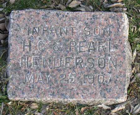 HENDERSON, INF. SON - Linn County, Iowa | INF. SON HENDERSON