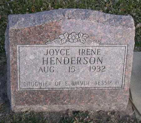 HENDERSON, JOYCE IRENE - Linn County, Iowa | JOYCE IRENE HENDERSON
