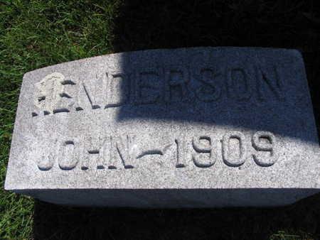 HENDERSON, JOHN - Linn County, Iowa | JOHN HENDERSON