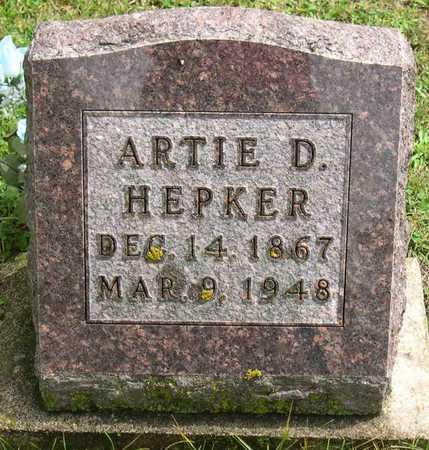 HEPKER, ARTIE D. - Linn County, Iowa | ARTIE D. HEPKER