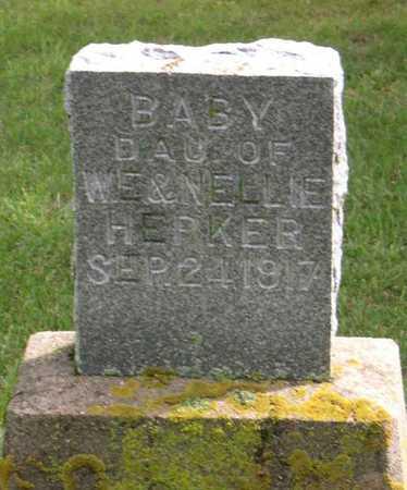 HEPKER, BABY DAUGHTER - Linn County, Iowa | BABY DAUGHTER HEPKER