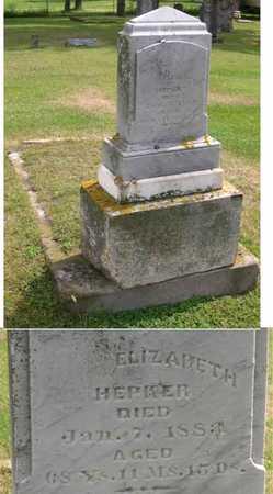 HEPKER, ELIZABETH - Linn County, Iowa | ELIZABETH HEPKER