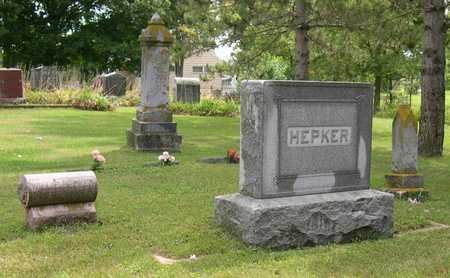 HEPKER, FAMILY STONE - Linn County, Iowa | FAMILY STONE HEPKER