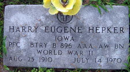 HEPKER, HARRY EUGENE - Linn County, Iowa | HARRY EUGENE HEPKER