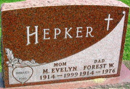 HEPKER, FOREST W. - Linn County, Iowa | FOREST W. HEPKER