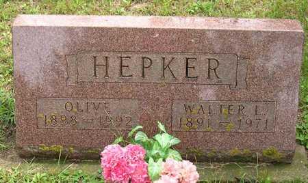 HEPKER, OLIVE - Linn County, Iowa   OLIVE HEPKER