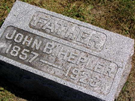 HEPLER, JOHN B. - Linn County, Iowa | JOHN B. HEPLER