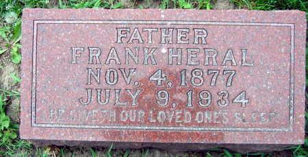 HERAL, FRANK - Linn County, Iowa | FRANK HERAL