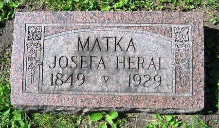 HERAL, JOSEFA - Linn County, Iowa | JOSEFA HERAL