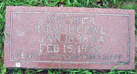 HERAL, ROSE - Linn County, Iowa | ROSE HERAL