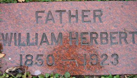 HERBERT, WILLIAM - Linn County, Iowa   WILLIAM HERBERT