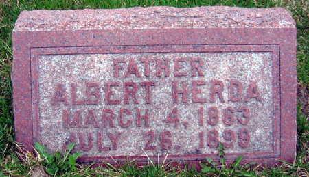 HERDA, ALBERT - Linn County, Iowa | ALBERT HERDA