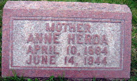 HERDA, ANNE - Linn County, Iowa | ANNE HERDA