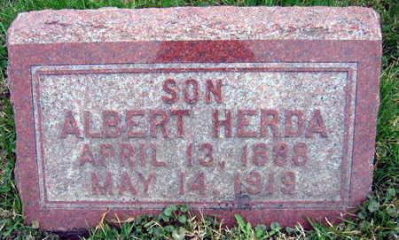 HERDA, ALBERT - Linn County, Iowa   ALBERT HERDA