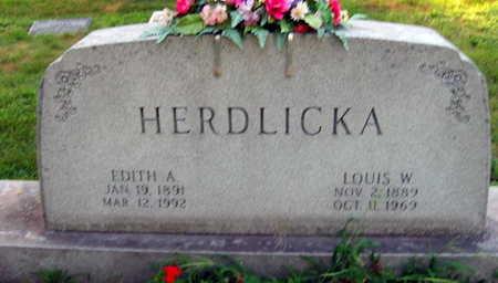 HERDLICKA, LOUIS W. - Linn County, Iowa | LOUIS W. HERDLICKA