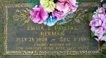 DOSTAL HERMAN, EMMA L. - Linn County, Iowa | EMMA L. DOSTAL HERMAN