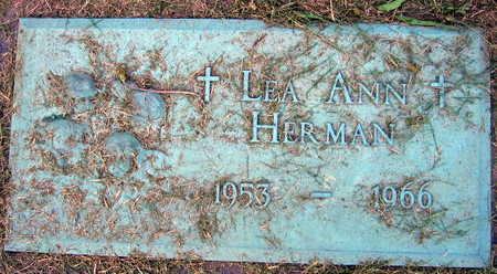 HERMAN, LEA ANN - Linn County, Iowa   LEA ANN HERMAN