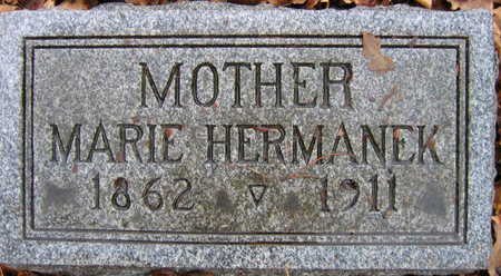 HERMANEK, MARIE - Linn County, Iowa   MARIE HERMANEK