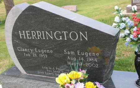 HERRINGTON, SAM EUGENE - Linn County, Iowa   SAM EUGENE HERRINGTON