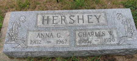 HERSHEY, ANNA G. - Linn County, Iowa | ANNA G. HERSHEY
