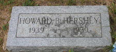 HERSHEY, HOWARD B. - Linn County, Iowa   HOWARD B. HERSHEY